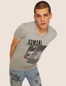 ARMANI EXCHANGE Graphic T-shirt [*** pickupInStoreShippingNotGuaranteed_info ***] a