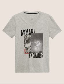 ARMANI EXCHANGE Graphic T-shirt [*** pickupInStoreShippingNotGuaranteed_info ***] r
