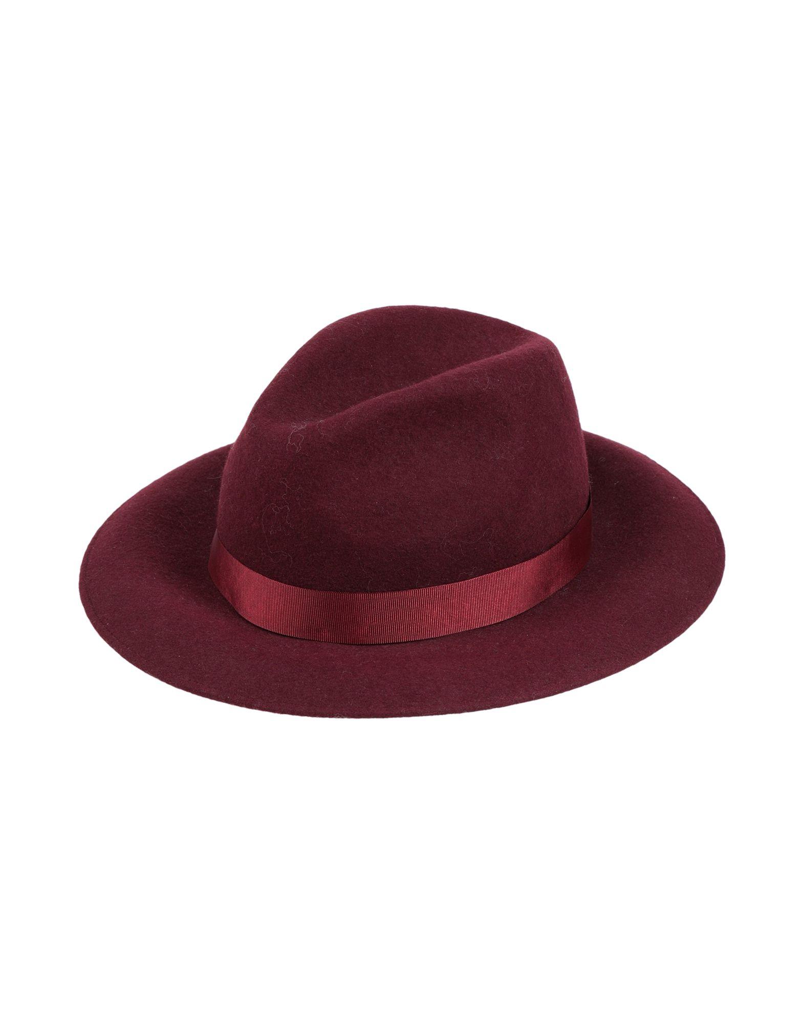 《セール開催中》ATTIC AND BARN レディース 帽子 ボルドー 56 ウール 100%