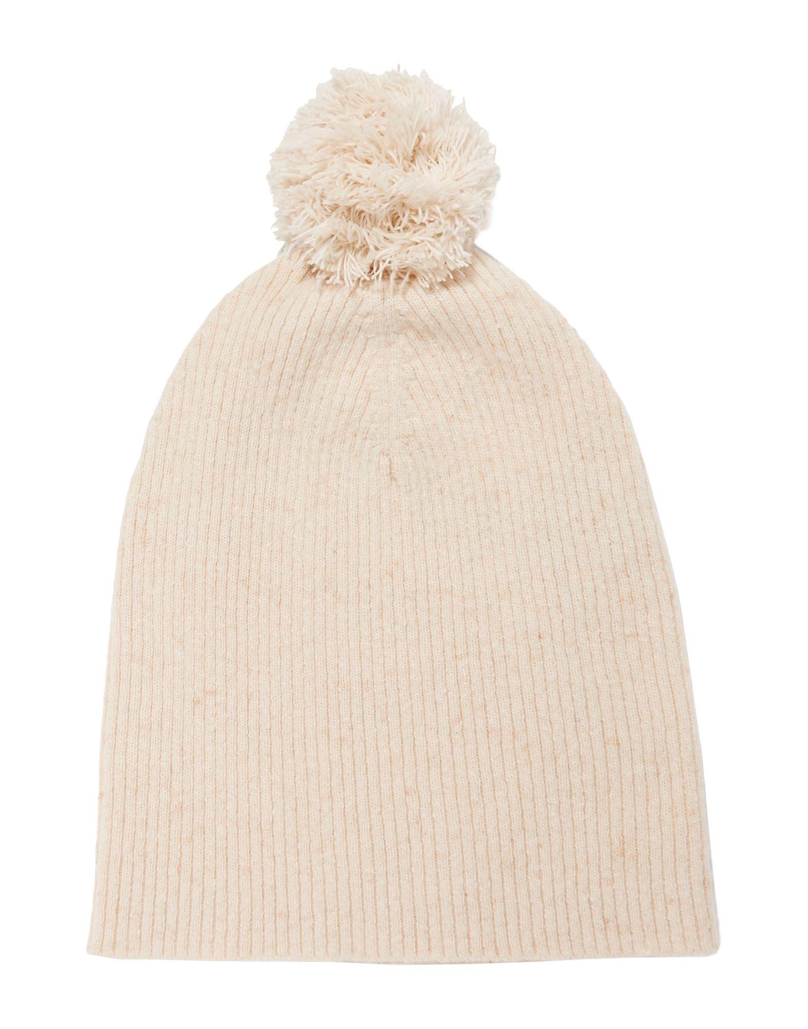 《送料無料》AUTUMN CASHMERE レディース 帽子 アイボリー one size カシミヤ 100%