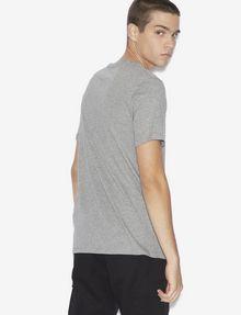 ARMANI EXCHANGE REGULAR-FIT TAXI LOGO CREW Graphic T-shirt [*** pickupInStoreShippingNotGuaranteed_info ***] e