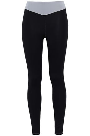 SÀPOPA Laser-cut stretch leggings