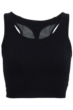 SÀPOPA Elif mesh-paneled cutout stretch sports bra