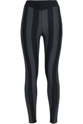 SÀPOPA Striped stretch leggings