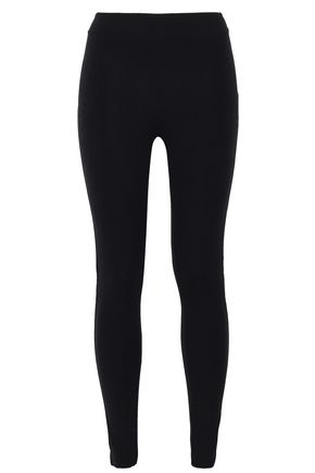 SÀPOPA Paneled coated stretch leggings