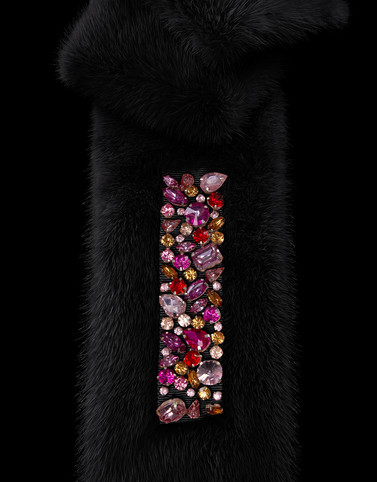 Moncler Hats & Scarves Woman: FUR SCARF