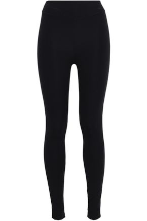 SÀPOPA Layered pleated shell and stretch leggings