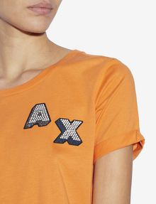 ARMANI EXCHANGE Logo T-shirt [*** pickupInStoreShipping_info ***] b