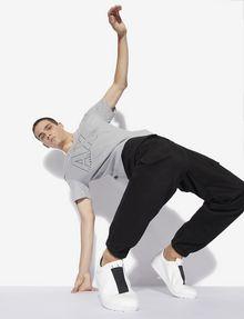 ARMANI EXCHANGE REGULAR-FIT REPEAT LOGO V-NECK Logo T-shirt [*** pickupInStoreShippingNotGuaranteed_info ***] a