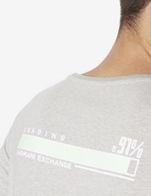 ARMANI EXCHANGE SLIM-FIT DIGITAL CONNECTION CREW Graphic T-shirt [*** pickupInStoreShippingNotGuaranteed_info ***] b