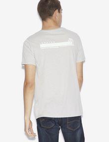 ARMANI EXCHANGE SLIM-FIT DIGITAL CONNECTION CREW Graphic T-shirt [*** pickupInStoreShippingNotGuaranteed_info ***] e