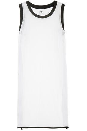 NIKE Striped mesh mini dress
