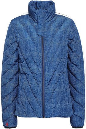 PERFECT MOMENT Printed quilted shell jacket