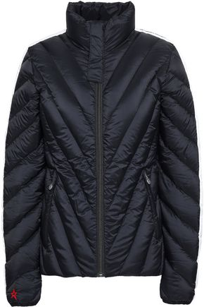 PERFECT MOMENT Quilted shell down jacket