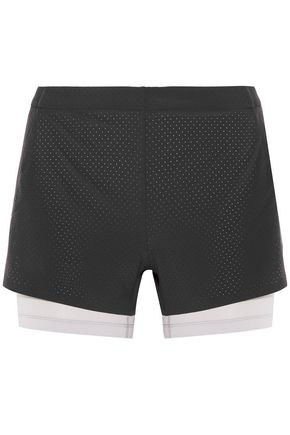 NIKE Layered stretch shorts