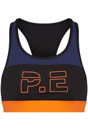 P.E NATION Printed stretch sports bra