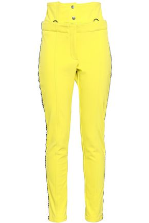 PERFECT MOMENT Shell slim-leg ski pants