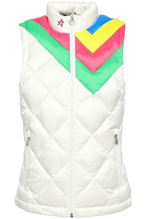 PERFECT MOMENT Quilted shell vest