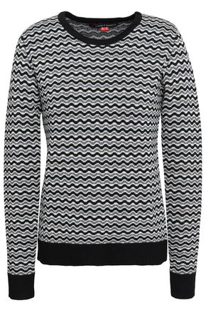 PERFECT MOMENT Merino wool jacquard sweater