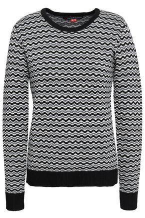 PERFECT MOMENT メリノウールジャカード セーター