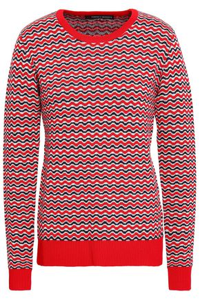 PERFECT MOMENT Merino wool jacquard sweater