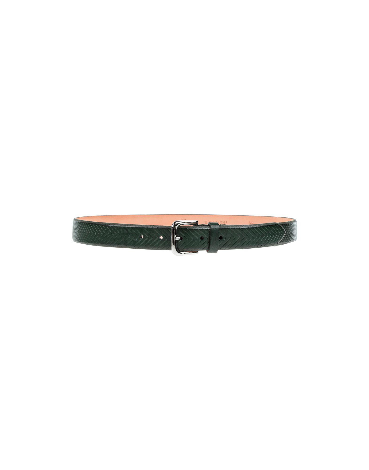 《セール開催中》ETRO メンズ ベルト グリーン 105 革