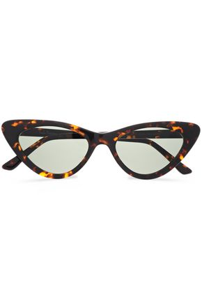 FRĒDA BANANA. Cat-eye tortoiseshell acetate sunglasses