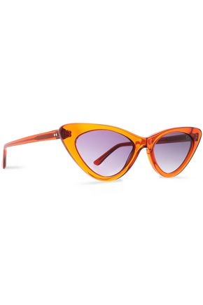FREDA BANANA Cat-eye acetate sunglasses