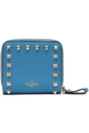 VALENTINO GARAVANI Studded leather wallet