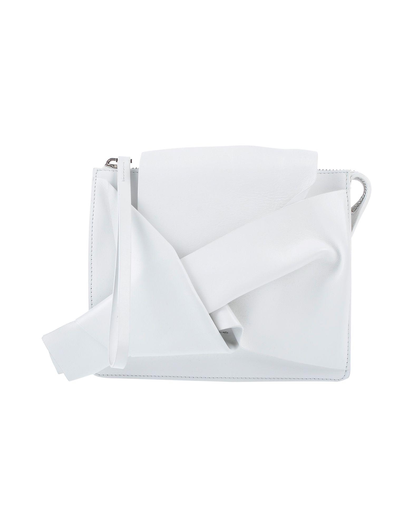 《送料無料》N°21 レディース ハンドバッグ ホワイト 革