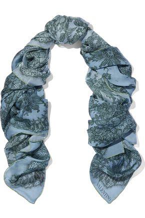 VALENTINO GARAVANI Printed silk scarf