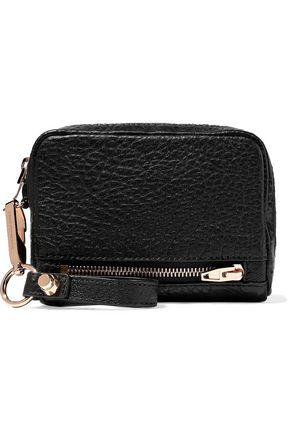 ALEXANDER WANG Fumo textured-leather wallet