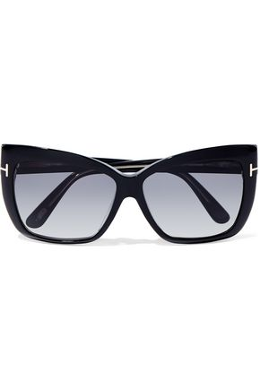 TOM FORD Irina square-frame acetate sunglasses