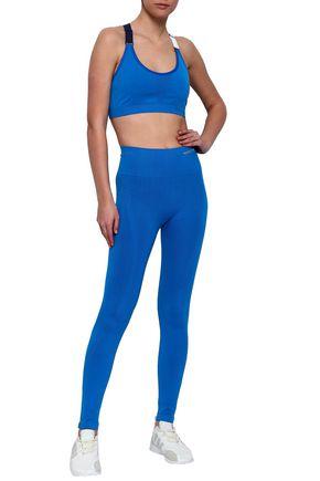 e56eaba5bb1ab PERFECT MOMENT Color-block stretch sports bra