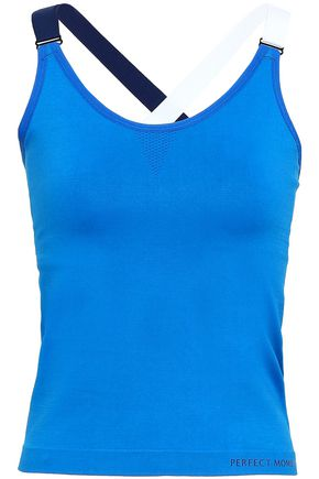 PERFECT MOMENT Color-block stretch tank