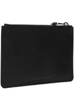 McQ Alexander McQueen Appliquéd leather pouch