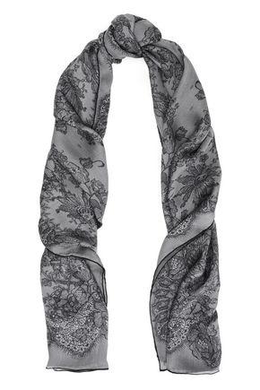 VALENTINO Printed silk scarf