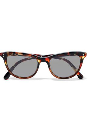 41e28af86144 OLIVER PEOPLES Cat-eye tortoiseshell acetate sunglasses