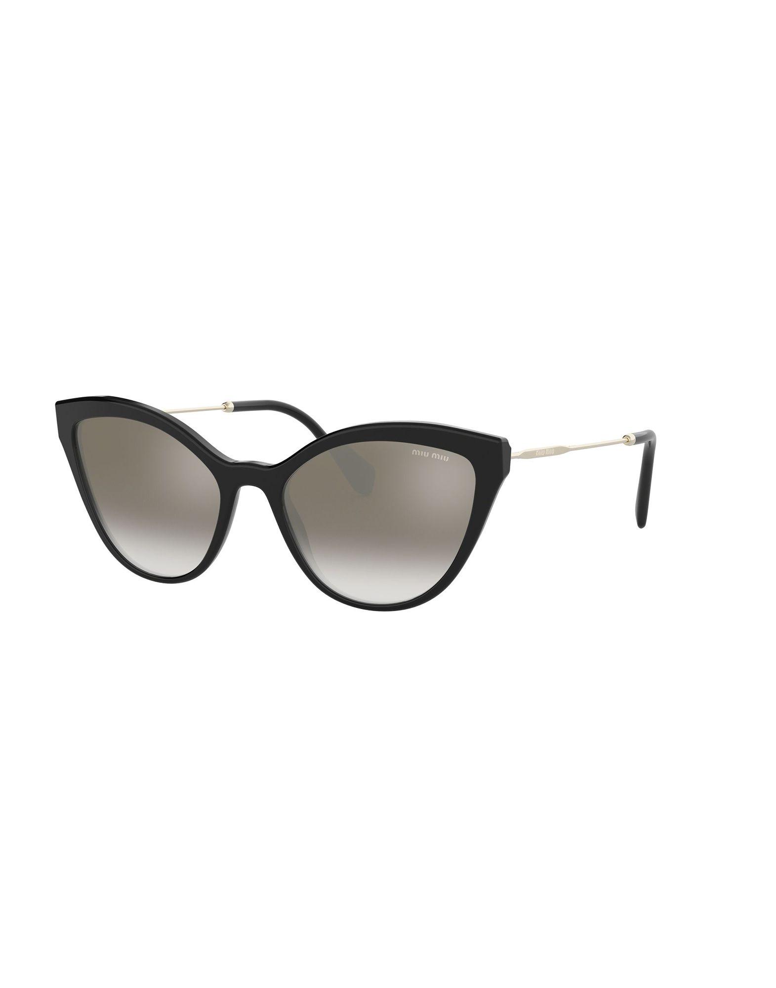 MIU MIU Солнечные очки бусины monisto стекло кошачий глаз круглые 4мм оранжевый около 66шт нить 14z7738
