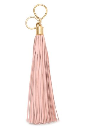 BALMAIN Leather tassel keychain
