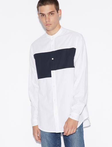 Armani Exchange Men s Shirts - Dress   Casual   A X Store   a38c8e7eb2