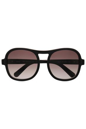 CHLOÉ D-frame acetate sunglasses