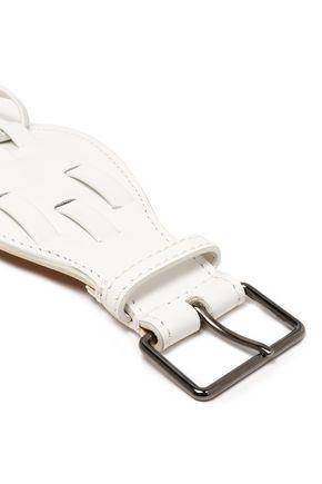 ALAÏA Woven leather belt