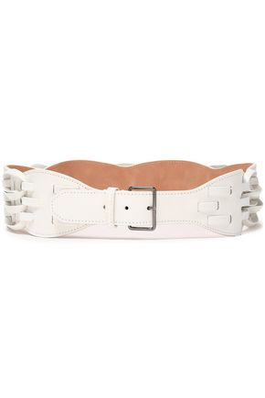ALAÏA Woven leather belt