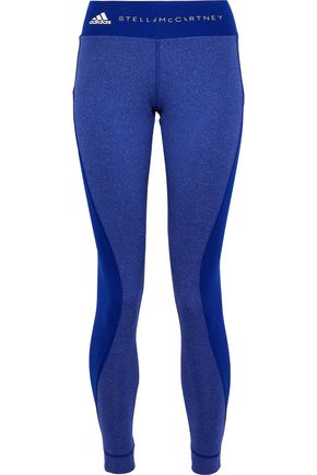 ADIDAS by STELLA McCARTNEY Paneled printed stretch leggings
