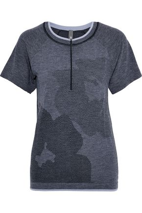 ADIDAS by STELLA McCARTNEY Jacquard-knit top