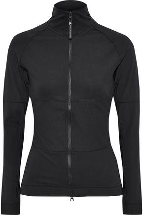 ADIDAS by STELLA McCARTNEY The Midlayer paneled stretch track jacket