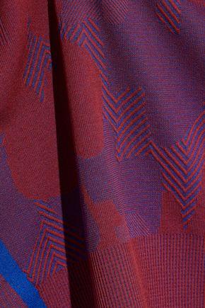 ADIDAS by STELLA McCARTNEY Jacquard-knit top