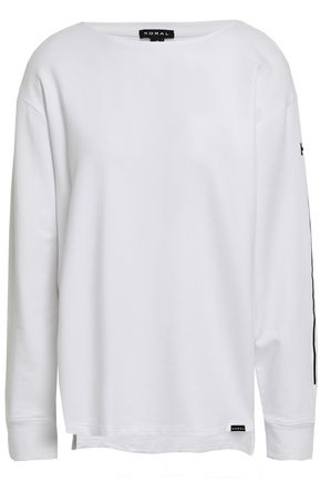 KORAL Stretch modal and cotton-blend French terry sweatshirt