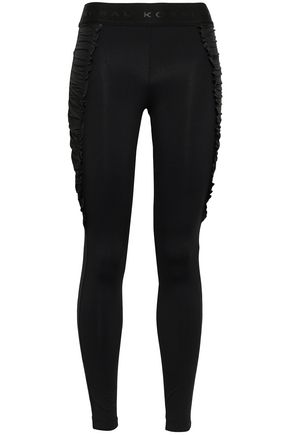KORAL Ruched stretch leggings
